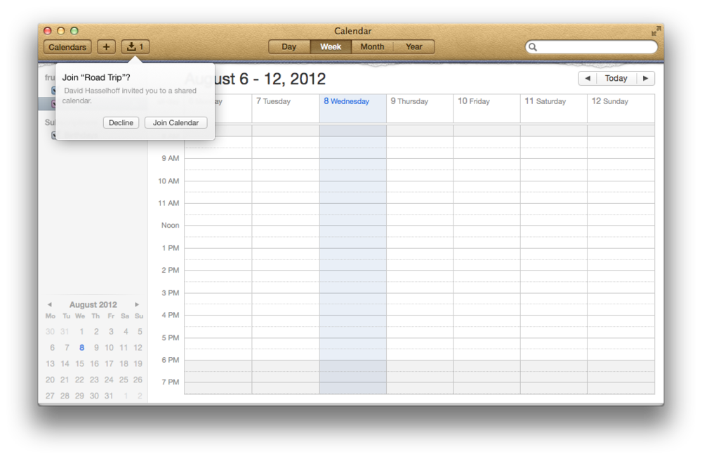 Calendar Sharing With Fruux Pro Fruux Blog